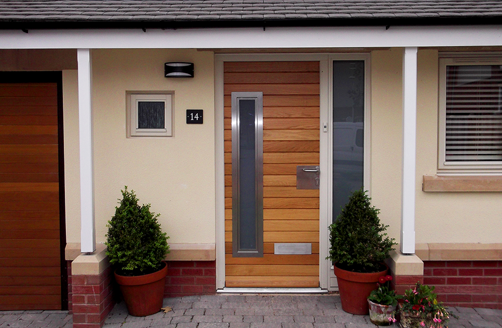 Timber panel door from AJ & D Chapelhow (Cliburn) Ltd