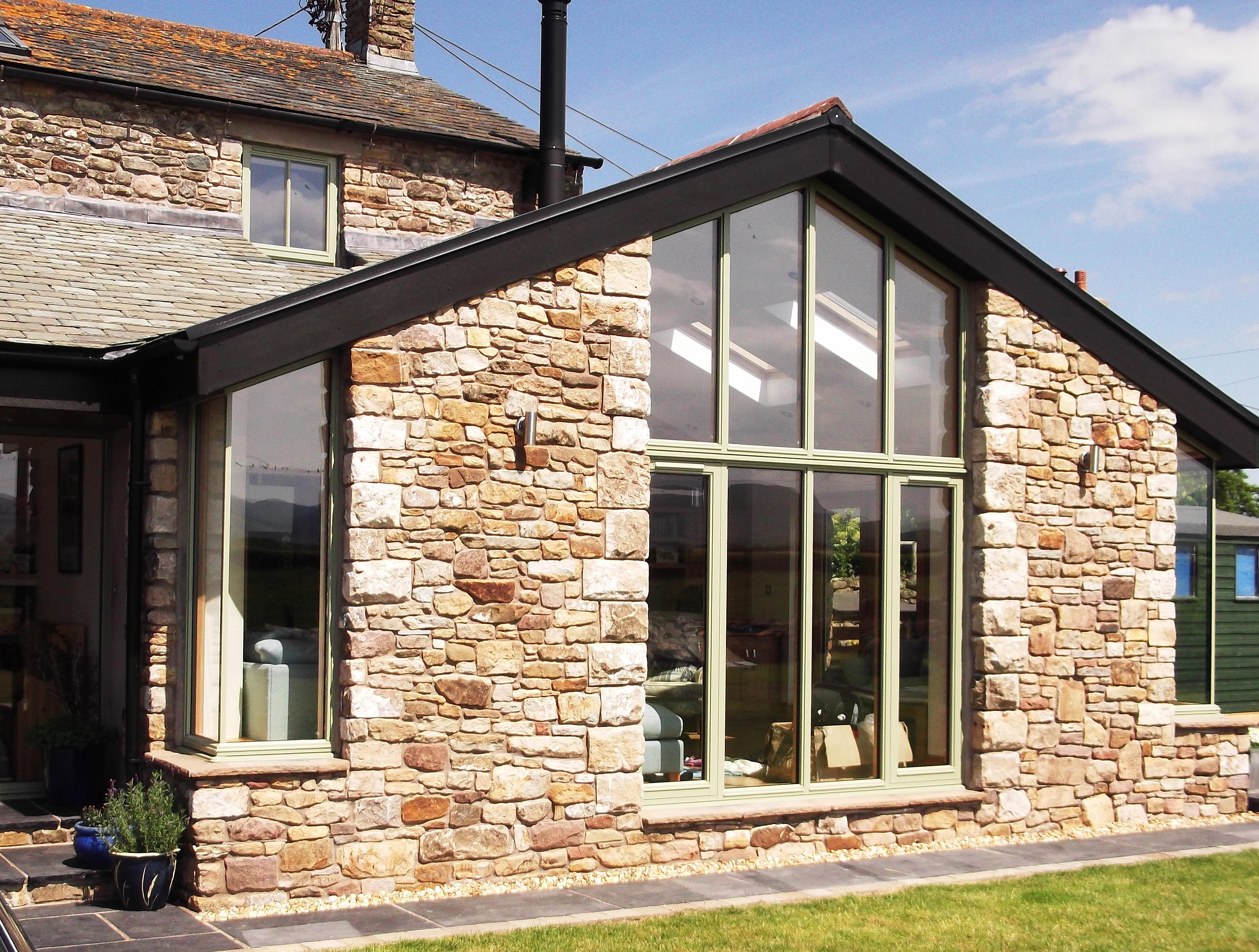 Peaked timber windows from AJ & D Chapelhow (Cliburn) Ltd