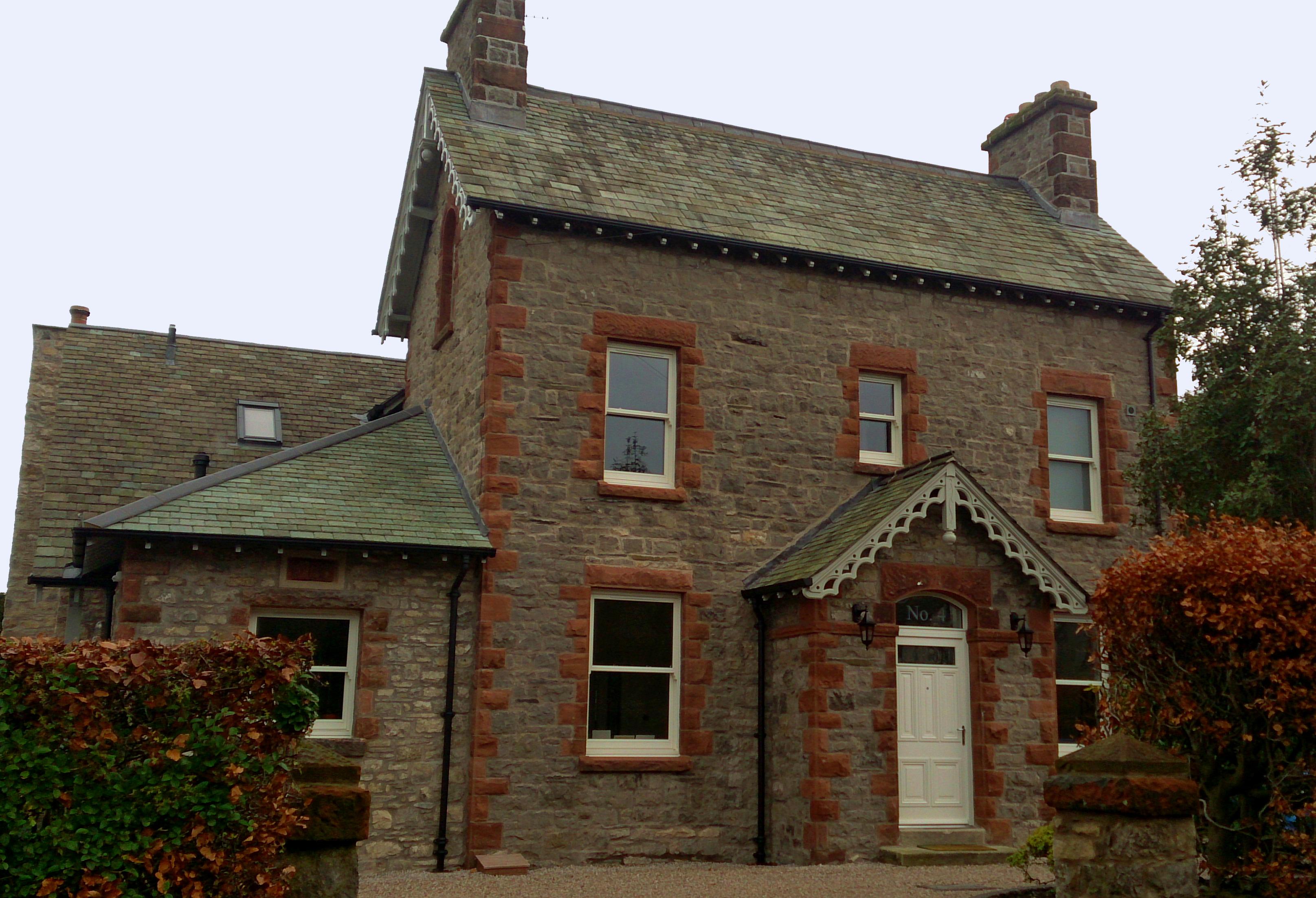 Sliding sash timber windows from AJ&D Chapelhow Ltd