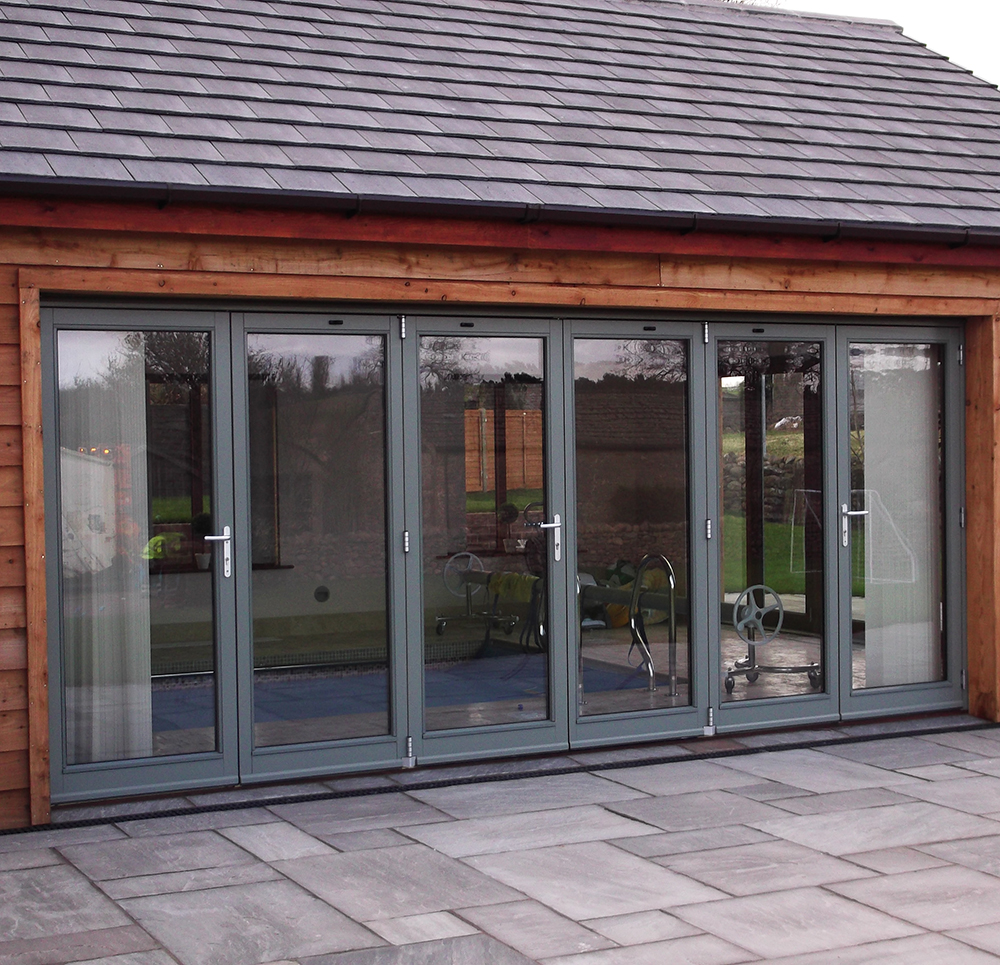 Sliding folding doors from AJ & D Chapelhow (Cliburn) Ltd