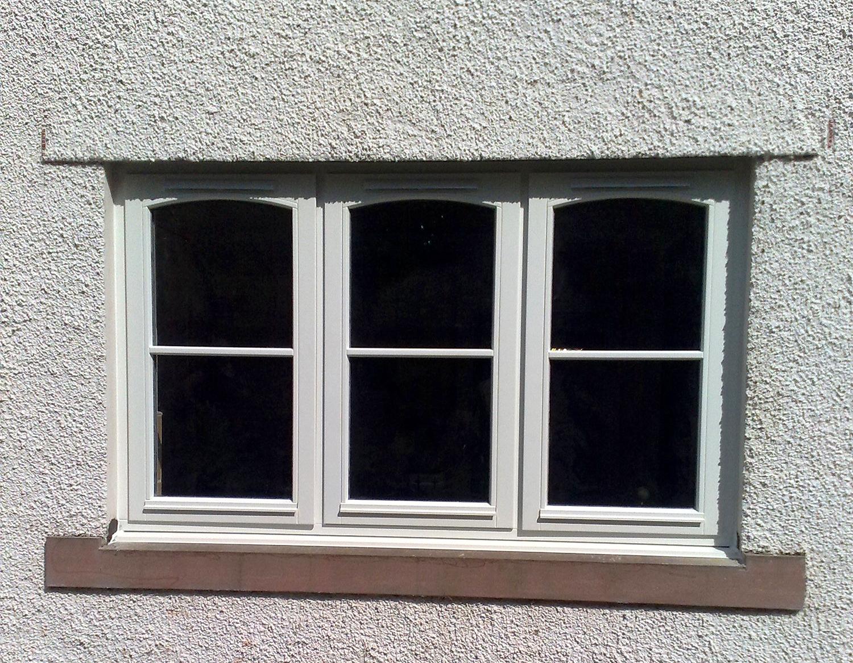 Timber Stormproof Side Swing & Top Hung windows from AJ&D Chapelhow (Cliburn) Ltd