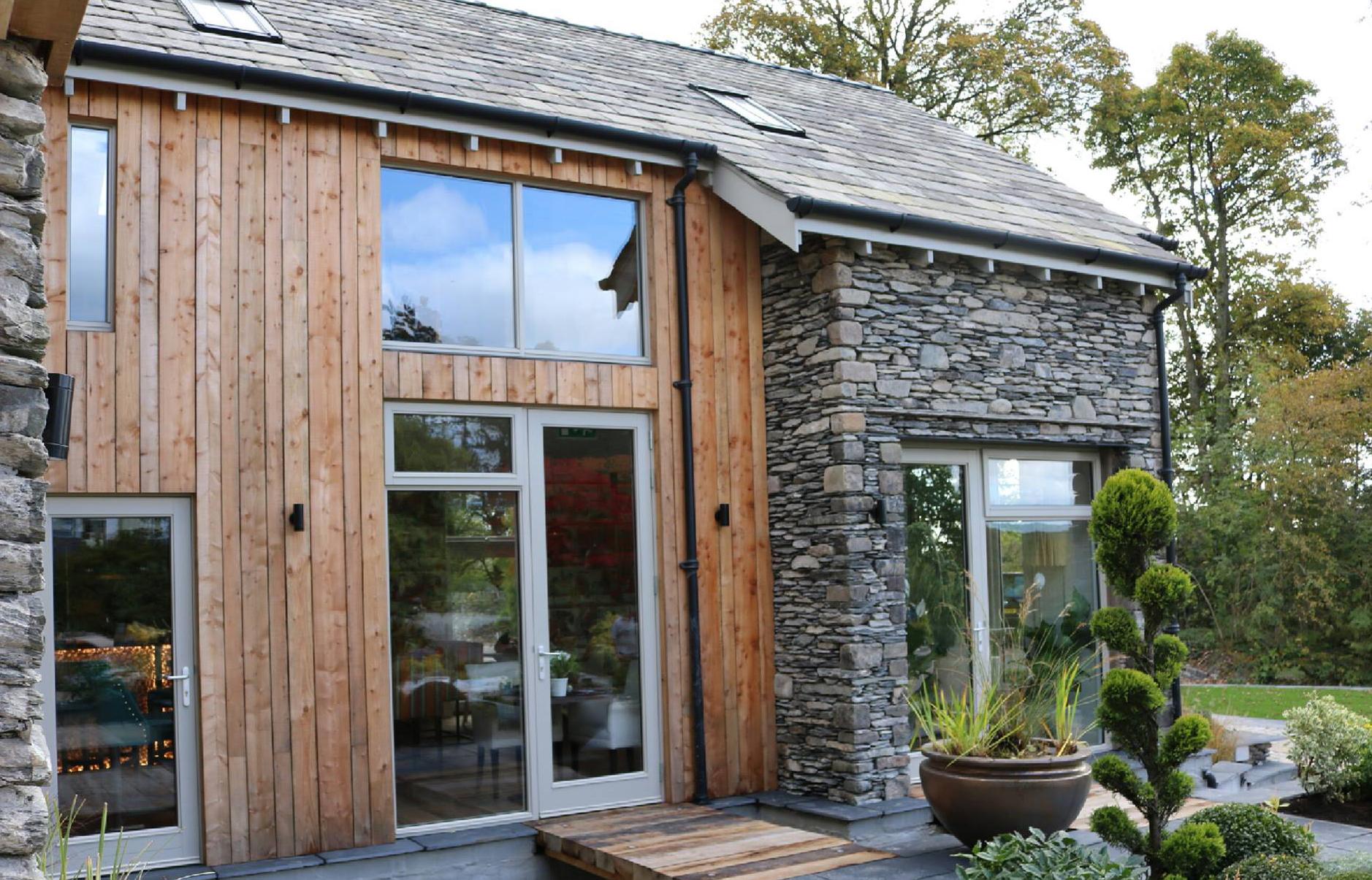 Architect designed timber windows from AJ&D Chapelhow (Cliburn) Ltd