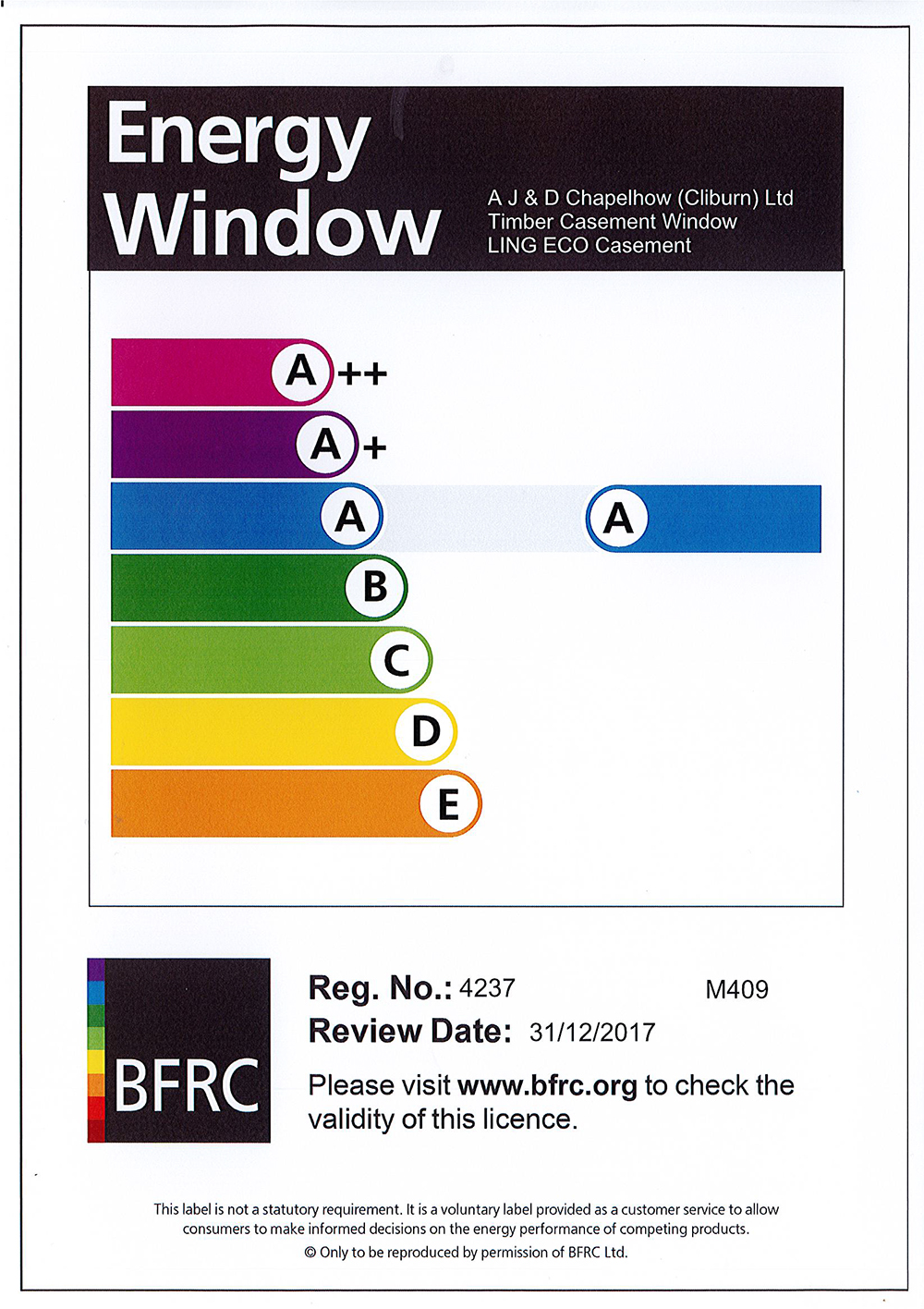 Timber side swing top hung windows from aj d chapelhow for Window ratings
