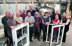 The skilled workforce at AJ & D Chapelhow (Cliburn) Ltd