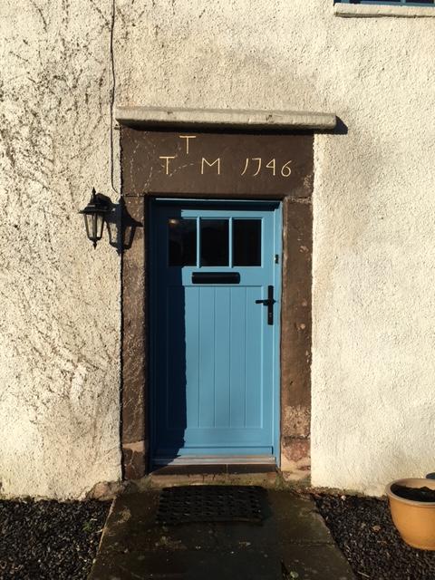 Traditional Timber door from AJ&D Chapelhow Ltd