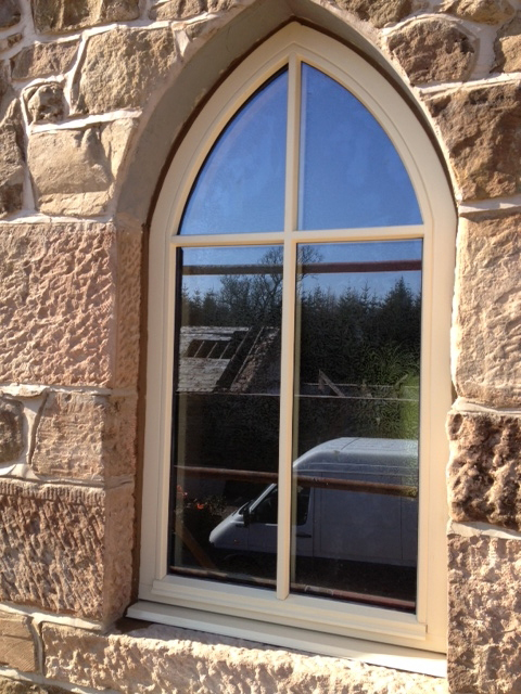 Flush Casement Timber window from AJ&D Chapelhow (Cliburn) Ltd