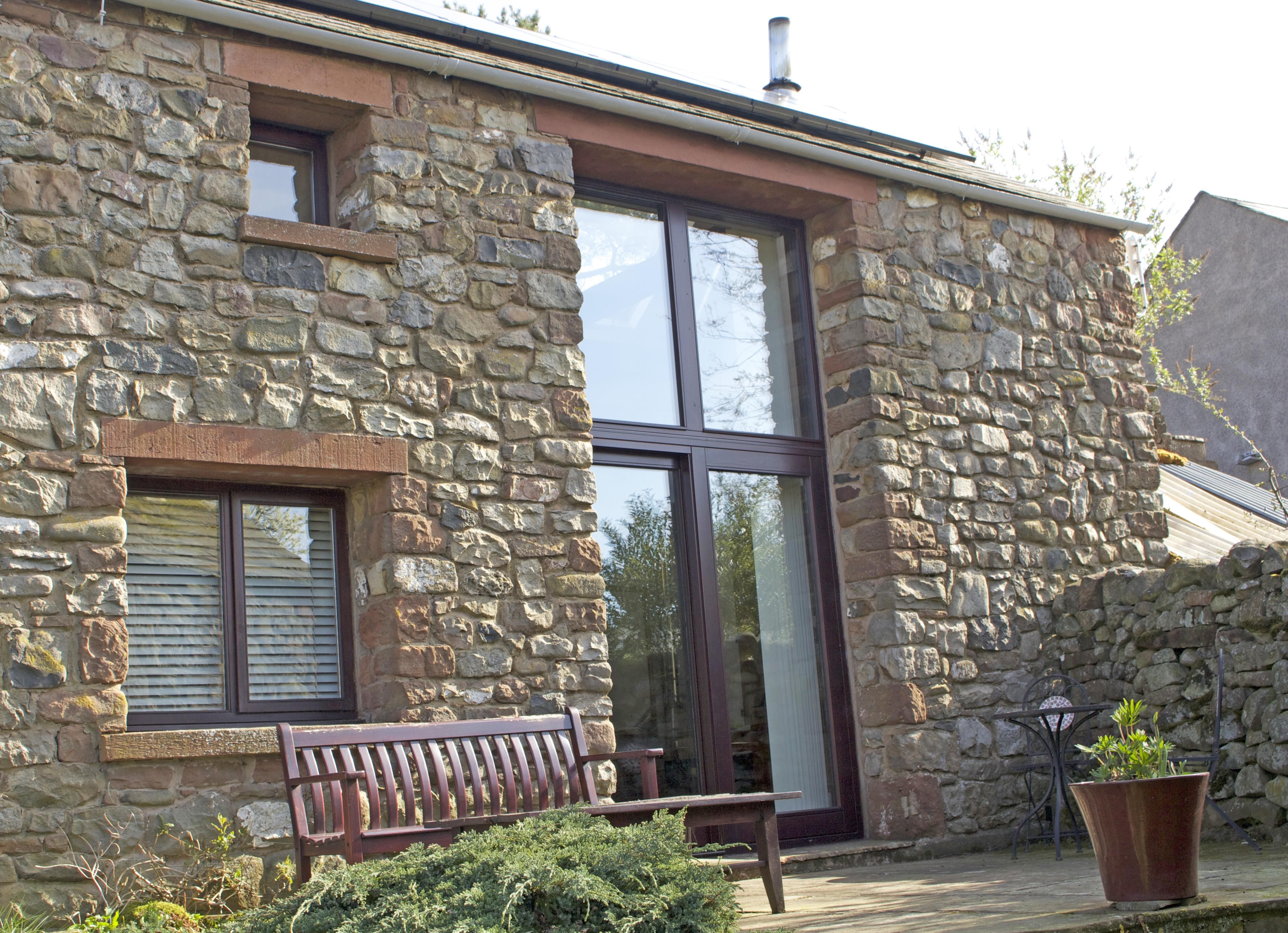 Quality timber Patio Doors and windows from AJ&D Chapelhow Ltd