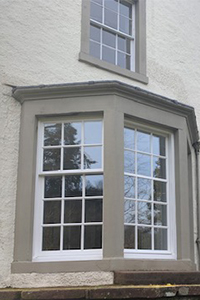 Askham church house putty pointed sliding multi pane sliding sash windows from ajd chapelhow
