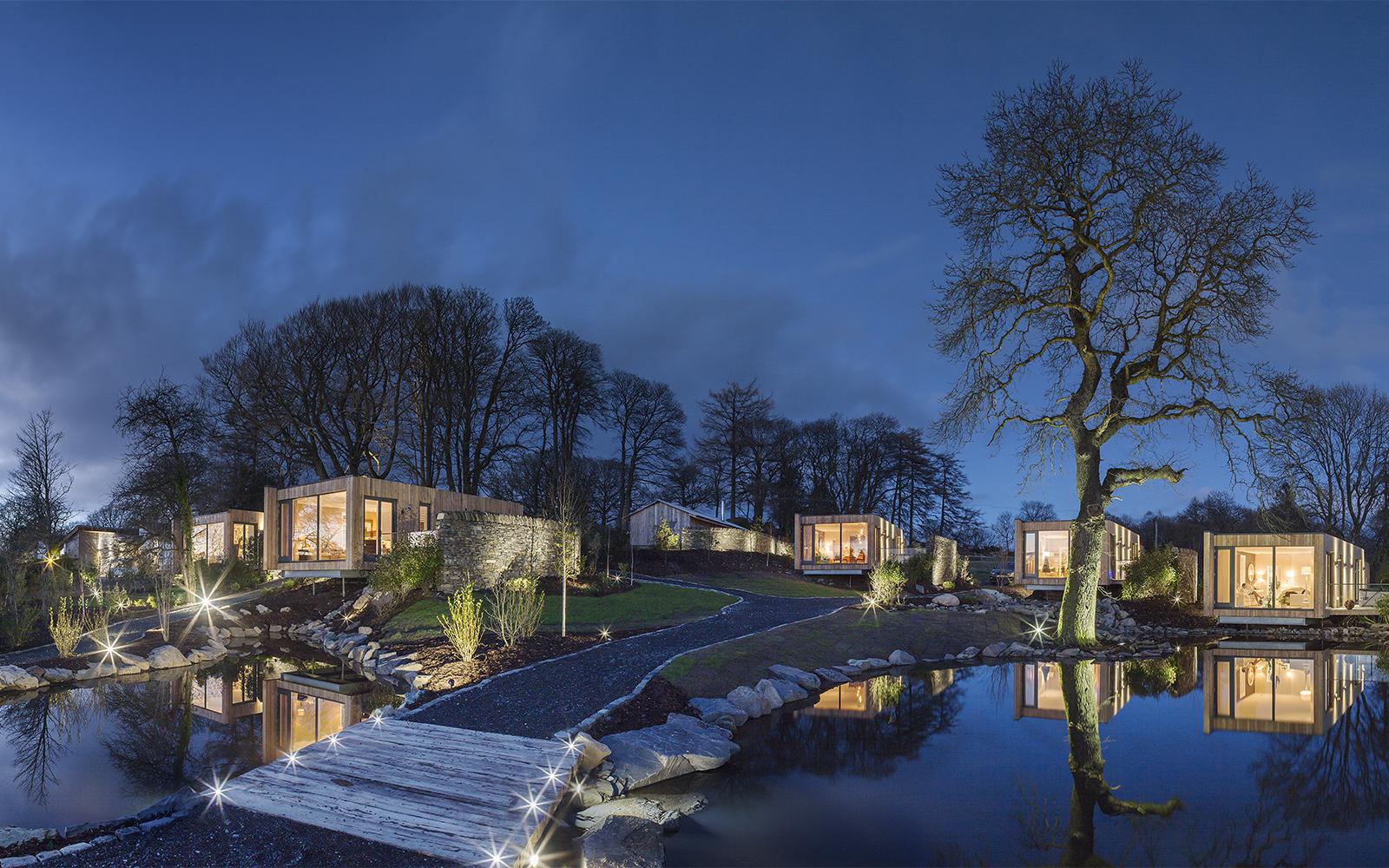 Ben Cunliffe architec luxury lodges sliding patio doors by ajd chapelhow