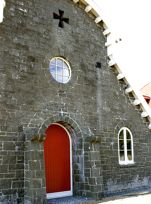 Coo palace round window ajd chapelhow