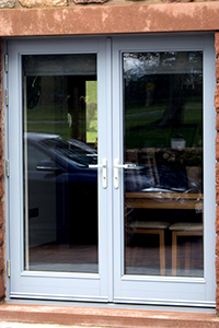 double doorset new build