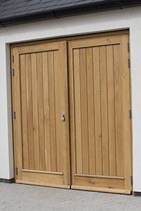 oak double doors from ajd chapelhow