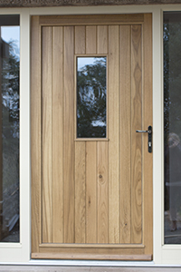 single door in oak by ajd chapelhow