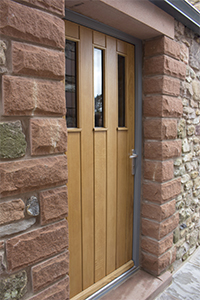 single oak door with 3 panels from ajd chapelhow
