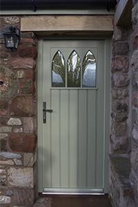 single oak painted door by ajd chapelhow