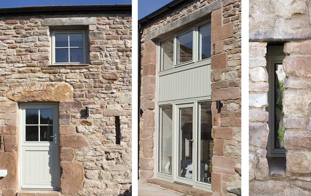timber barn conversion windows and doors by aj&d chapelhow