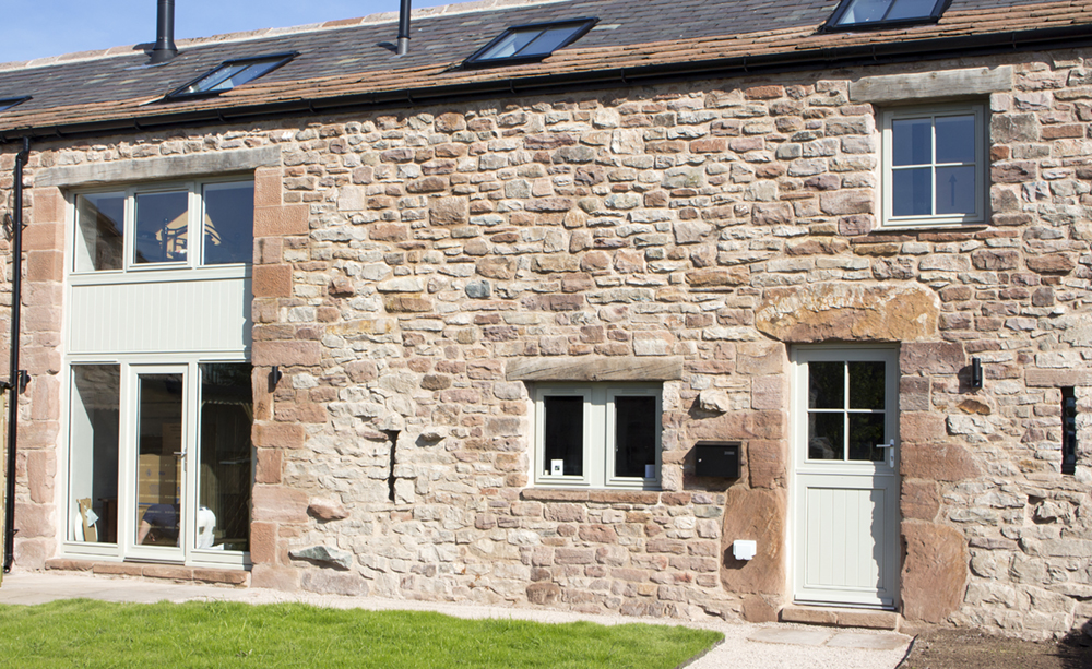 timber barn conversion windows and doors by ajd chapelhow