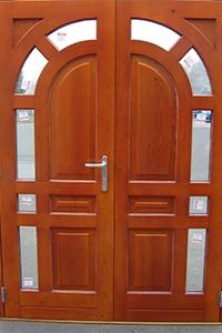 timber double door from ajd chapelhow
