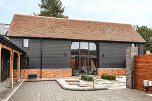 Barn conversion SW doors and windows by ajd chapehow