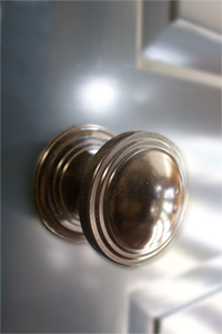 brass door knob from ajd chapelhow